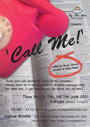 By The Slice presents 'Call Me!'