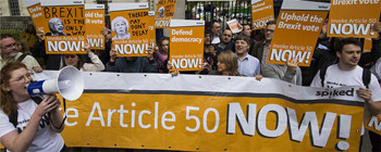Invoking Article 50 is Democracy