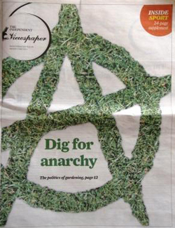 The Independent dig for anarchy