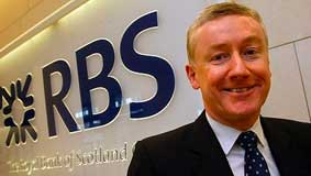 Fred Goodwin, a greedy banker