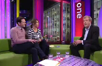 The One Show soliciting balance from Clarkson