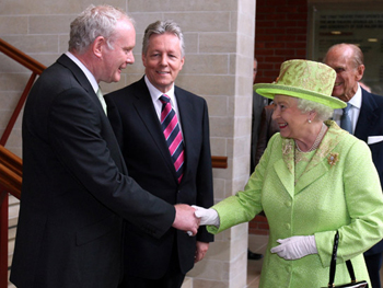 The Queen's Jubilee handshake with Martin McGuinness