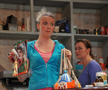 Naomi Radcliffe (Samantha) and Susan Cookson (Janet). Photo by Gerry Murray