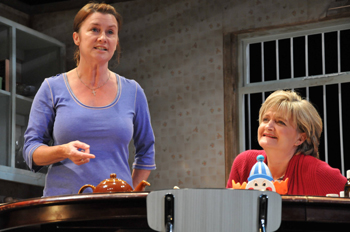Susan Cookson (Janet) and Kate Anthony (Carol). Photo by Gerry Murray