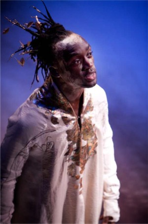 Jotham Annan as Dionysus - photograph by Jonathan Keenan