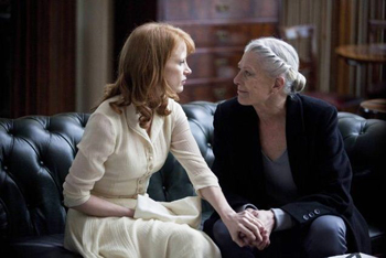 Jessica Chastain and Vanessa Redgrave in Coriolanus