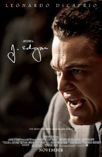 J Edgar with Leonardo DiCaprio