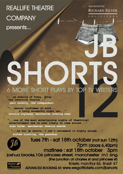 Reallife Theatre Company presents JB Shorts 12