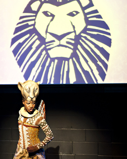 Lion King Press Launch. Photo by Sara Porter.