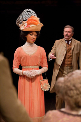 Cush Jumbo as Eliza Doolittle. Photo by Jonathan Keenan.