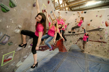 Why don't women climbers promote each other?